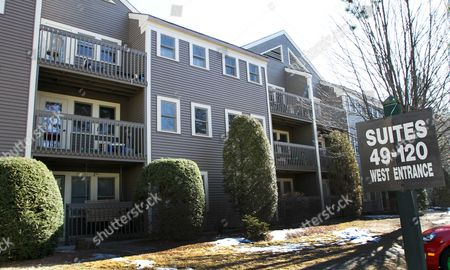 An apartment building is seen, in Concord, N.H. Records show a person named Michael Maher lived in the complex from 1999 to 2006. Authorities believe British fugitive Edward Maher, dubbed fast Eddie, for a 1993 armored-cart heist, used his brothers' name and lived in the complex. AP Photo/Jim Cole