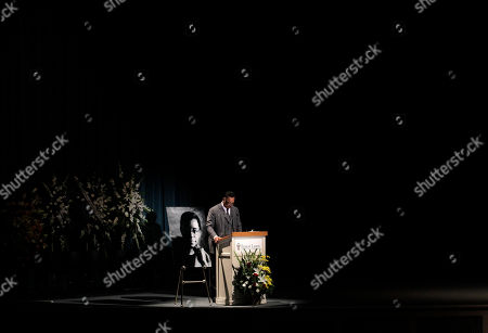 """Jesse Jackson The Rev. Jesse Jackson delivers the eulogy during a private memorial service for """"Soul Train"""" creator and host Don Cornelius in Los Angeles, . Cornelius died Feb. 1 from a self-inflicted gunshot wound. Since then, tributes to him and the show he created have been held around the country"""