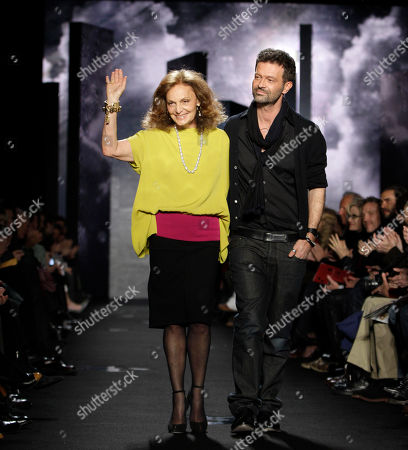Editorial image of Fashion Diane Von Furstenberg Fall 2012, New York, USA