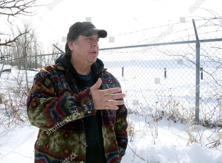 Editorial picture of GM Pollution Tribal Lands, Massena, USA