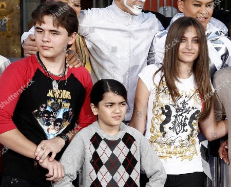 """Prince Jackson, Blanket Jackson, Paris Jackson, Justin Bieber, Katherine Jackson From left, Prince Jackson, Blanket Jackson and Paris Jackson after a hand and footprint ceremony honoring their father musician Michael Jackson in front of Grauman's Chinese Theatre in Los Angeles. The executors of Michael Jackson's estate say they are concerned about the welfare of the singer's mother and his three children. In a letter posted on fan sites Tuesday, July 24, executors John Branca and John McClain says they are doing what they can to protect them from """"undue influences, bullying, greed, and other unfortunate circumstances."""" The letter came hours after sheriff's deputies responded for a family disturbance at the hilltop home where Katherine Jackson and her three grandchildren live. No arrests were made, but there is an active battery investigation. Katherine Jackson was reported missing over the weekend, but is with relatives in Arizona"""