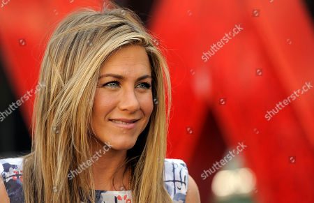 Jennifer Aniston Actress Jennifer Aniston after a ceremony to award her a star on the Hollywood Walk of Fame in Los Angeles. Aniston is ready to marry again. The actress is engaged to screenwriter and actor Justin Theroux, Aniston's rep, Stephen Huvane, confirms