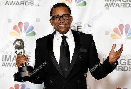 Editorial photo of NAACP Image Awards Press Room, Los Angeles, USA