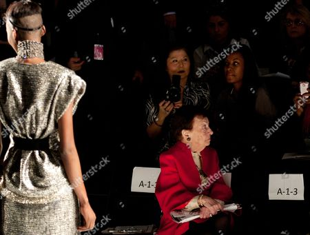 Editorial photo of NY Fashion Week Audience Death, New York, USA