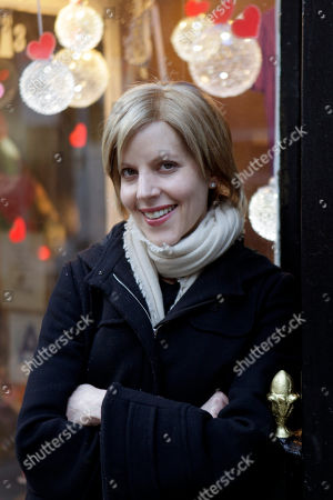 """Stock Image of Pamela Druckerman Pamela Druckerman, author of """"Bringing Up Bebe,"""" poses for a picture in New York. The just-published """"Bringing Up Bebe"""" is written by an American who was struck by the good manners of kids in Paris, where she raises her own brood of three. Now she shares her lessons with those of us whose kids, alas, don't have quite the same je ne sais quoi"""