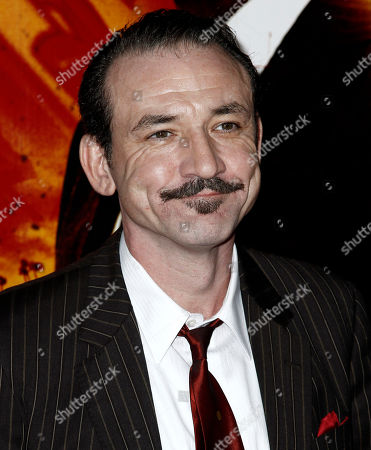 "Ritchie Coster Cast member Ritchie Coster arrives at the premiere for the HBO television series ""Luck"" in Los Angeles, . The first episode of ""Luck"" airs Jan. 29, 2012"