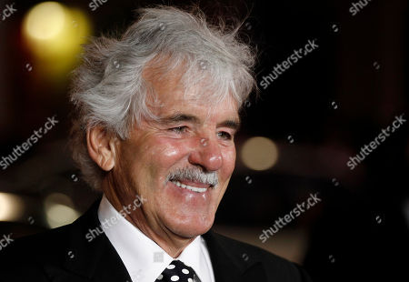 "Dennis Farina Cast member Dennis Farina arrives at the premiere for the HBO television series ""Luck"" in Los Angeles, . The first episode of ""Luck"" airs Jan. 29, 2012"