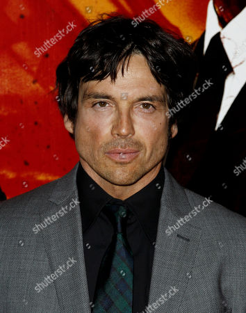 """Jason Gedrick Cast member Jason Gedrick arrives at the premiere for the HBO television series """"Luck"""" in Los Angeles, . The first episode of """"Luck"""" airs Jan. 29, 2012"""