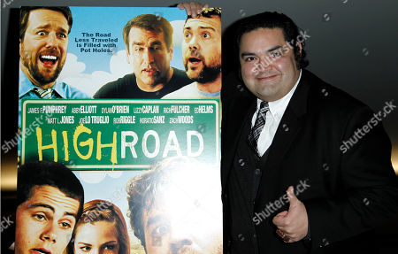 "Joe Nunez Cast member Joe Nunez arrives at a screening of ""High Road"" in Los Angeles"