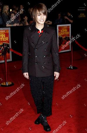 "Yuma Nakayama Yuma Nakayama arrives at the premiere of ""John Carter"" in Los Angeles, . ""John Carter"" opens in theaters March 9, 2012"
