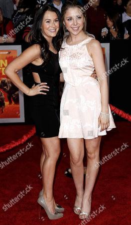"""Alexa Vega, Makenzie Vega Alexa Vega, left, and Makenzie Vega arrive at the premiere of """"John Carter"""" in Los Angeles, . """"John Carter"""" opens in theaters March 9, 2012"""