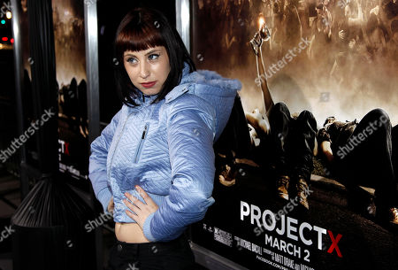 "Kreayshawn Musician Kreayshawn arrives at the premiere of ""Project X"" in Los Angeles, . ""Project X"" opens in theaters Friday, March 2, 2012"