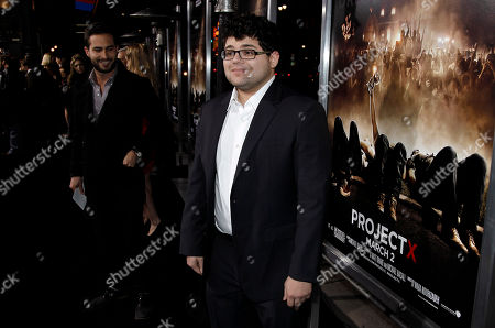 """Stock Picture of Jonathan Daniel Brown Cast member Jonathan Daniel Brown arrives at the premiere of """"Project X"""" in Los Angeles, . """"Project X"""" opens in theaters Friday, March 2, 2012"""