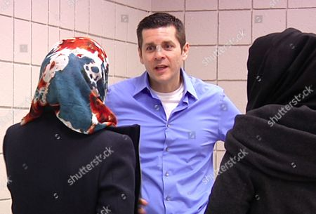 Dean Obeidallah In a frame grab from video shot, muslim comedian Dean Obeidallah talks with students at Michigan State University in East Lansing, Mich. Arab-Muslim stand-up comedy is flourishing more than a decade after the terrorist attacks of Sept. 11