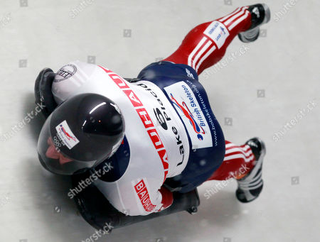 Kristan Bromley Great Britain's Kristan Bromley competes in the second heat in the men's skeleton world championships in Lake Placid, N.Y