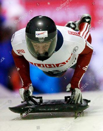 Kristan Bromley Great Britain's Kristan Bromley starts his first heat in the men's Skeleton World Championships in Lake Placid, N.Y., on