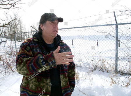 Larry Thompson Larry Thompson stands on his family's land on the Mohawk Indians' Akwesasne Reservation in northern New York, near the chain-link fence that separates it from the former General Motors landfill, in Massena, N.Y. Federal officials said they removed 335,000 tons of PCBs, contaminated soil and other material at the ongoing Superfund cleanup of a shuttered General Motors factory, far more waste than expected