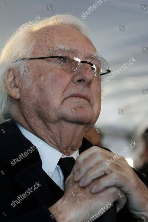 Richard Meier Renowned architect and Newark native, Richard Meier listens in Newark, N.J., during groundbreaking ceremonies for the Teachers Village development in downtown Newark, N.J. The mixed-use development project, designed by Meier, that will contain several schools, a retail corridor and affordable teacher housing aimed at attracting new faces to the city's struggling schools