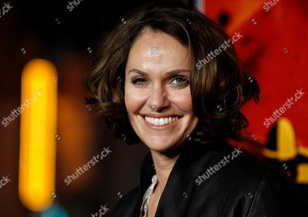 """Stock Picture of Amy Brenneman Actress Amy Brenneman arrives at the premiere for the HBO television series """"Luck"""" in Los Angeles. Brenneman will star in the Broadway play, """"Rapture, Blister, Burn,"""" by Gina Gionfriddo. Previews begin on May 18, 2012"""