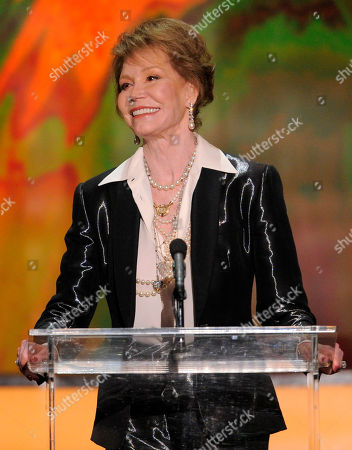"""Mary Tyler Moore Mary Tyler Moore accepts the Life Achievement award at the 18th Annual Screen Actors Guild Awards in Los Angeles. Moore is being spotlighted in a new DVD collection called """"The Dick Van Dyke Show: Classic Mary Tyler Moore Episodes."""" The set gathers 20 episodes that dwell on the home life of Rob and Laura Petrie, putting the comic radiance of Moore on full display"""
