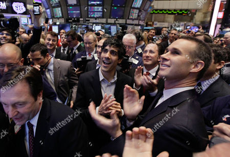 Jeremy Stoppelman Jeremy Stoppelman, center, Yelp co-founder and CEO, applauds as his company's IPO begins trading, on the floor of the New York Stock Exchange . Yelp's stock is soaring in its stock market debut Friday. The shares are up 61 percent to $24.15 in the first minutes of trading, after pricing at $15 on Thursday night