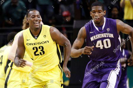 Editorial photo of Washington Oregon Basketball, Eugene, USA