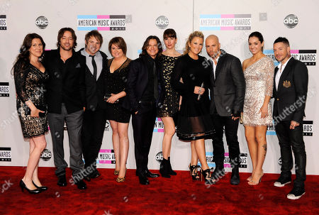 Editorial photo of 2011 American Music Awards Arrivals, Los Angeles, USA