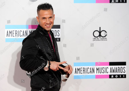 """Michael Sorrentino Michael """"The Situation"""" Sorrentino arrives at the 39th Annual American Music Awards on in Los Angeles"""