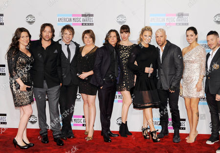 Editorial image of 2011 American Music Awards Arrivals, Los Angeles, USA