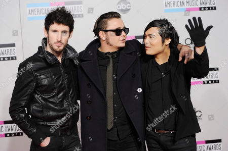 Editorial picture of 2011 American Music Awards Arrivals, Los Angeles, USA