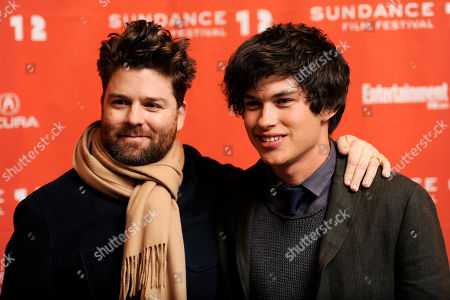 "Christopher Neil, Graham Phillips Christopher Neil, left, director of ""Goats,"" poses with cast member Graham Phillips at the premiere of the film at the 2012 Sundance Film Festival in Park City, Utah"