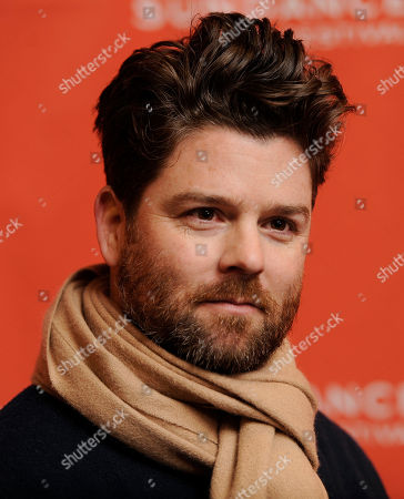 "Christopher Neil Christopher Neil, director of ""Goats,"" poses at the premiere of the film at the 2012 Sundance Film Festival in Park City, Utah"