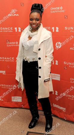 "Toni Lysaith Toni Lysaith, a cast member in ""Red Hook Summer,"" poses at the premiere of the film at the 2012 Sundance Film Festival in Park City, Utah"