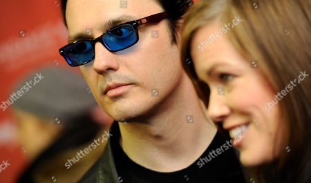 "Damien Echols, Lorri Davis Damien Echols, a producer of the film ""West of Memphis,"" and his wife Lorri Davis, also a producer of the film, are interviewed at the premiere of the film at the 2012 Sundance Film Festival in Park City, Utah"