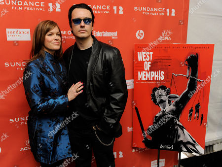 "Stock Photo of Damien Echols, Lorri Davis Damien Echols and his wife Lorri Davis, producers of the documentary film ""West of Memphis,"" pose together at the premiere of the film at the 2012 Sundance Film Festival in Park City, Utah, . The film uncovers new evidence surrounding the arrest and conviction of three men -- Echols, Jason Baldwin and Jessie Misskelley Jr. -- for the 1993 murders of three eight-year-old boys in West Memphis, Arkansas"