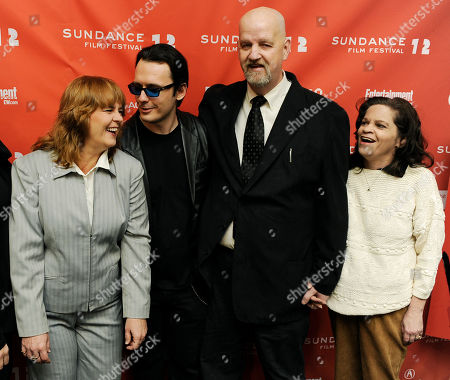 "Damien Echols, Mark Byers, Jacki Byers, Pam Hobbs Damien Echols, second from left, a producer of the film ""West of Memphis,"" shares a laugh with Pam Hobbs, left, and Mark Byers and his wife Jacki at the premiere of the documentary film at the 2012 Sundance Film Festival in Park City, Utah, . Echols spent 18 years on death row in Arkansas after being accused, along with Jason Baldwin and Jessie Misskelley Jr., of the murders of three eight-year-old boys including Byers' son Christopher and Hobbs' son Stevie. In August 2011 the three men were released from prison after entering a plea that allowed them to maintain their innocence, while acknowleding that prosecutors had enough evidence to convict them"