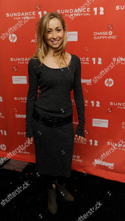 """Felicity Price Felicity Price, co-writer and star of the Australian film """"Wish You Were Here,"""" poses at the premiere of the film at the 2012 Sundance Film Festival in Park City, Utah, . The film was highlighted as the opening night film for the World Cinema Dramatic Competition"""