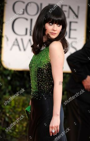 Editorial picture of 69th Golden Globe Awards - Arrivals, Los Angeles, USA