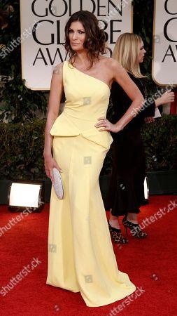 Julia Kurbatova Julia Kurbatova arrives on the red carpet before the 69th Annual Golden Globe Awards, in Los Angeles