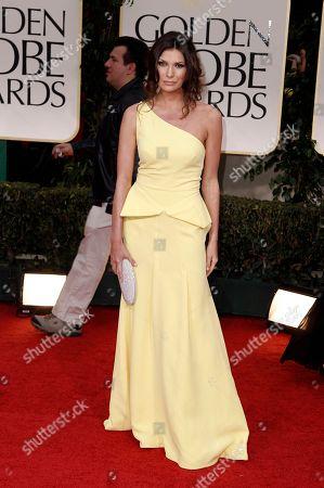 Stock Image of Julia Kurbatova Julia Kurbatova arrives at the 69th Annual Golden Globe Awards, in Los Angeles