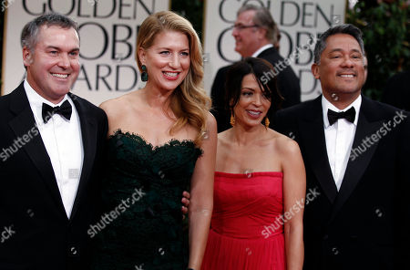 Editorial picture of 69th Golden Globe Awards - arrivals, Los Angeles, USA.