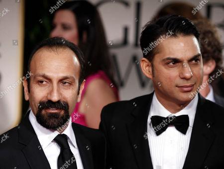 Asghar Farhadi, Peyman Moadi Asghar Farhadi, left, and Peyman Moadi arrive at the 69th Annual Golden Globe Awards, in Los Angeles
