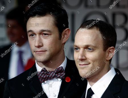 Joseph Gordon-Levitt, Will Reiser Joseph Gordon-Levitt, left, and Will Reiser arrive at the 69th Annual Golden Globe Awards, in Los Angeles