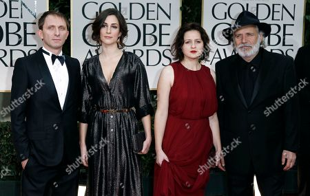 Editorial image of 69th Golden Globe Awards - arrivals, Los Angeles, USA.