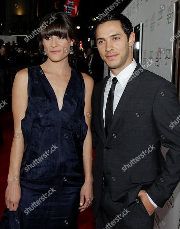 """Michael Rady Cast member Michael Rady, right, and a guest arrive at the premiere of """"J. Edgar"""" during the Opening Night Gala of AFI FEST 2011 in Los Angeles, . """"J. Edgar"""" opens in theaters Nov. 9, 2011"""