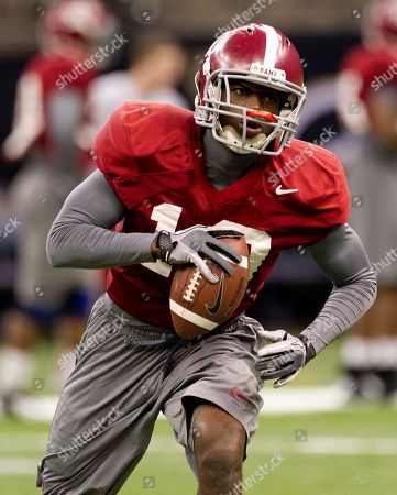 John Fulton Alabama defensive back John Fulton (10) catches a pass during practice for the BCS championship NCAA college football game at the Superdome in New Orleans, . Alabama is scheduled to face LSU for the national championship on Monday, Jan. 9