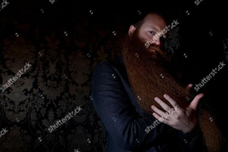 Editorial photo of Beard and Moustache Competition, Brooklyn, NY, USA