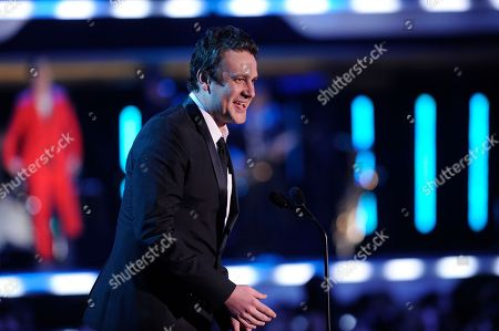 Jason Segal Jason Segal presents the award for best director during the 17th Annual Critics' Choice Movie Awards on in Los Angeles