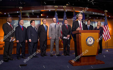 "Paul Gosar, Joe Walsh, Raul Labrador, Allen West, Tim Huelskamp, Blake Farenthold, Tim Murphey, Trent Franks, Ann Marie Buerkle Rep. Joe Walsh, R-Ill., speaks during a news conference on Capitol Hill in Washington, calling for increased accountability and transparency from Attorney General Eric Holder and officials within the Justice Department related to the ""Fast and Furious"" operation. From left are, Rep. Allen West, R-Fla., Rep. Tim Huelskamp, R-Kan., Rep. Blake Farenthold, R-Texas, Rep. Tim Murphy, R-Pa., Rep. Trent Franks, R-Ariz., Rep. Paul Gosar, R-Ariz., Walsh, Rep. Raul Labrador, R-Idaho, and Ann Marie Buerkle, R- N.Y"
