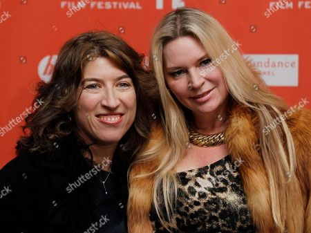 """Stock Picture of Lauren Greenfield, Jacqueline Siegel Filmmaker Lauren Greenfield, left, and documentary subject Jacqueline Siegel, pose together at the opening night premiere of """"The Queen of Versailles"""" at the 2012 Sundance Film Festival in Park City, Utah"""